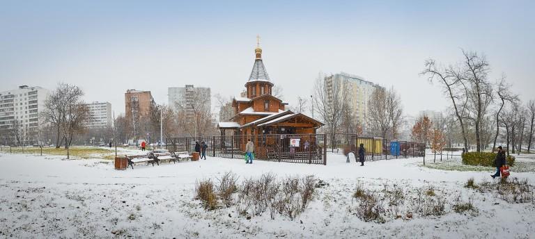 Первый снег 2015