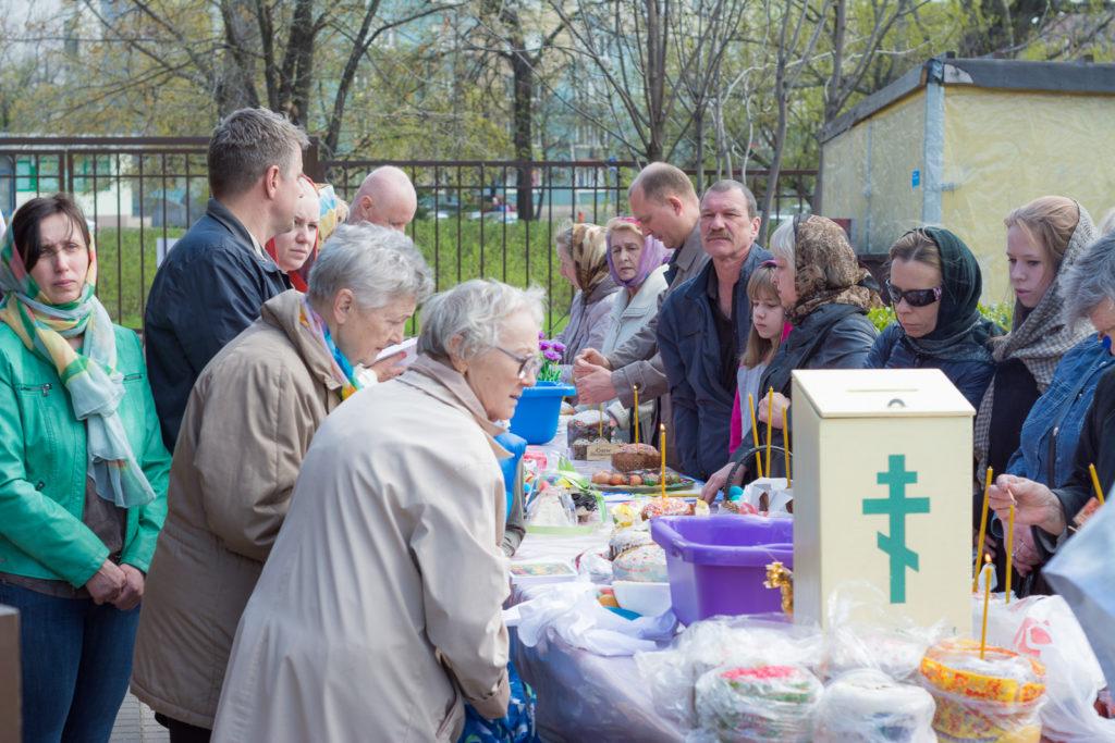Освящение яиц и куличей-27