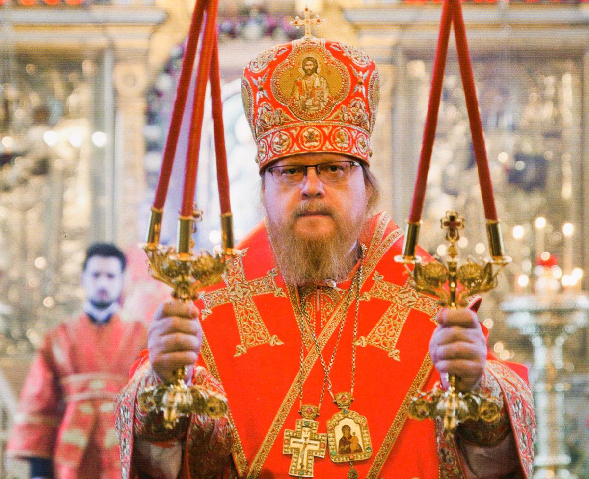 Архиерейская служба на престольный праздник