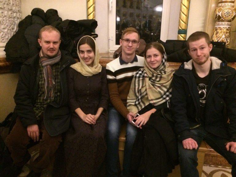Молодежь нашего храма посетила ночное богослужение