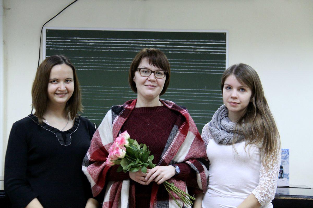 Дипломное богослужение певчей Ольги Гетьманенко