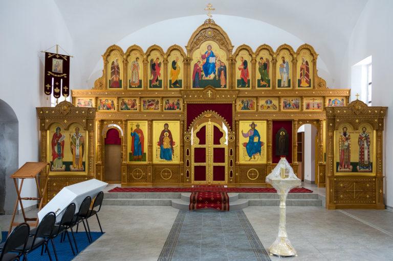 Малое освящение храма св. равноап. кн. Ольги