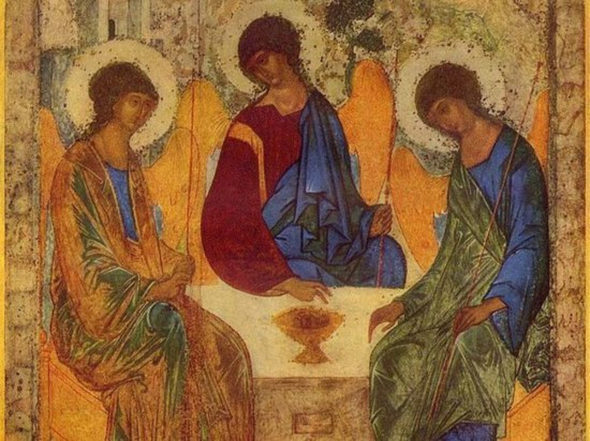 Празднование дня Святой Троицы