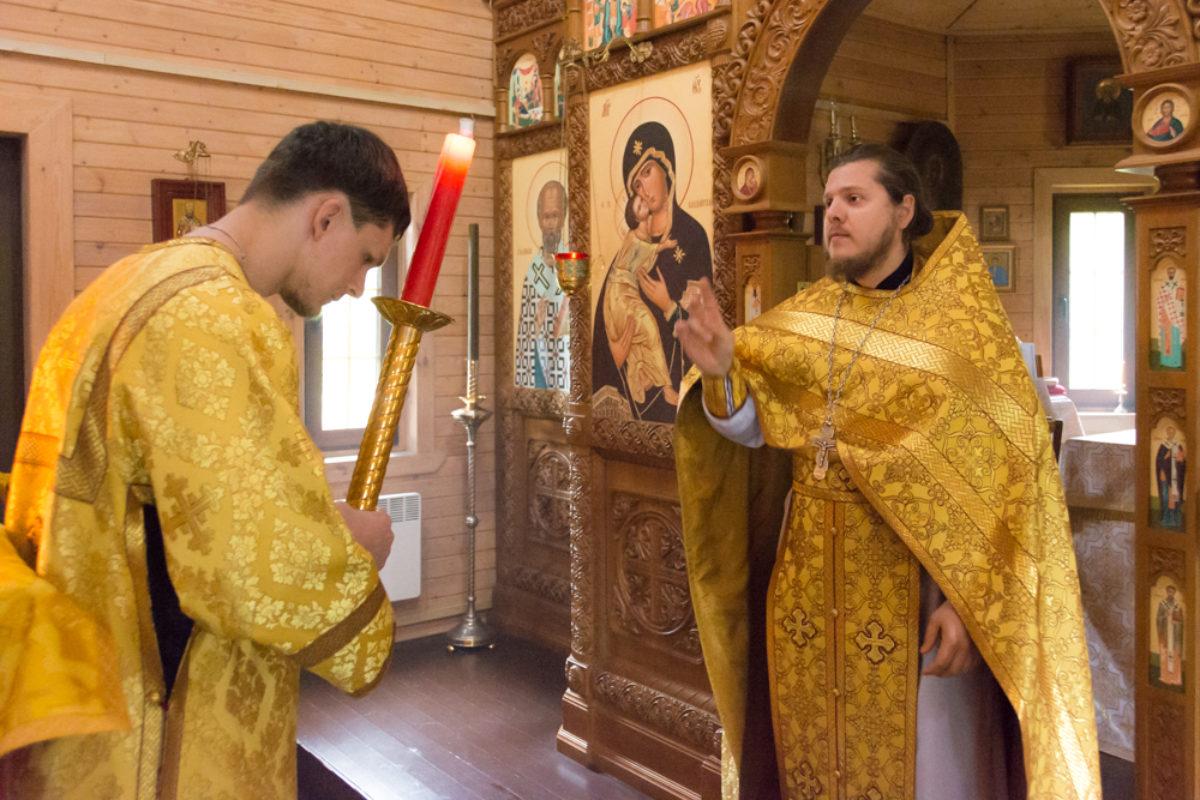 Литургия в неделю всех святых, в земле Русской просиявших