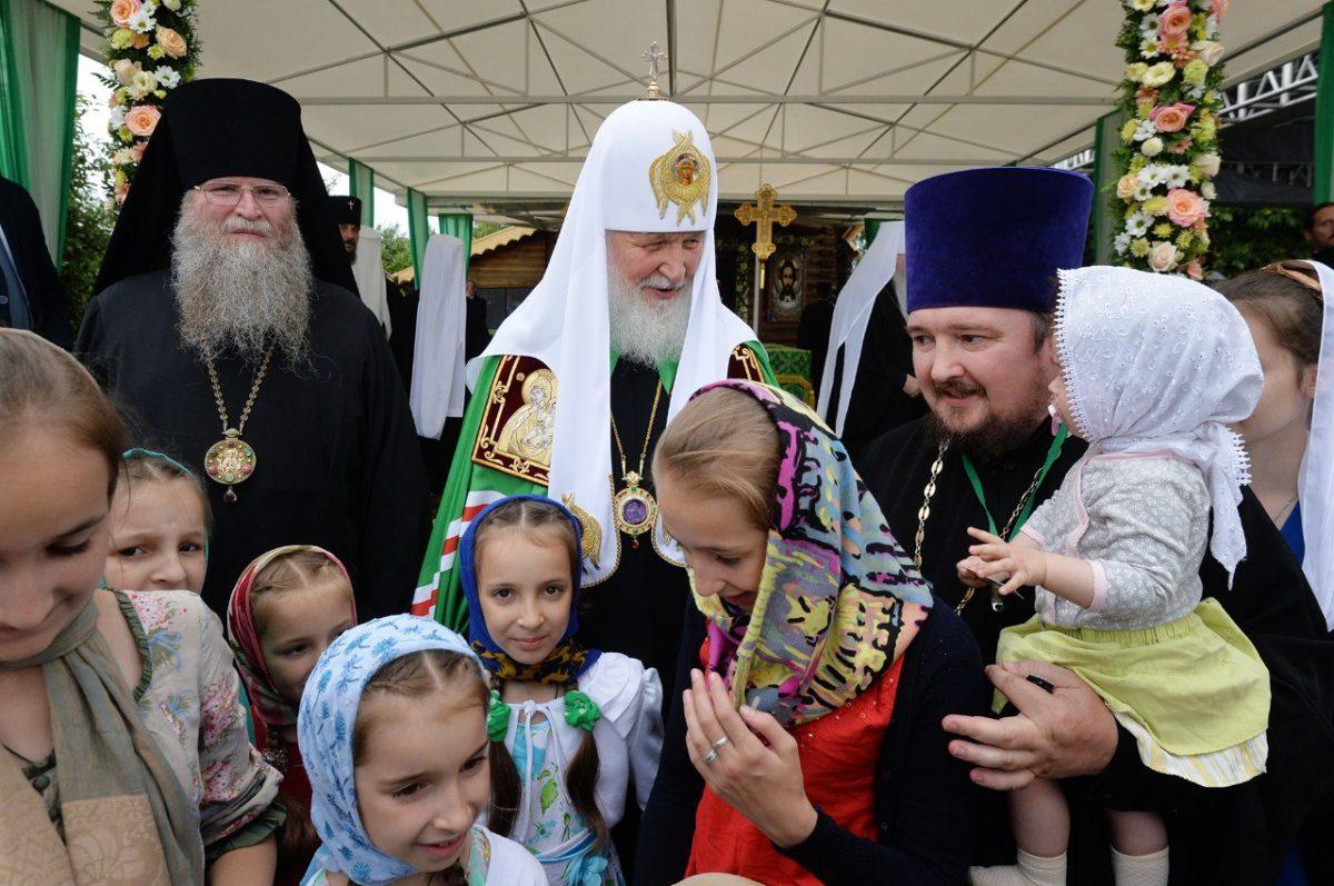 Проповедь Святейшего Патриарха Кирилла в День любви, семьи и верности