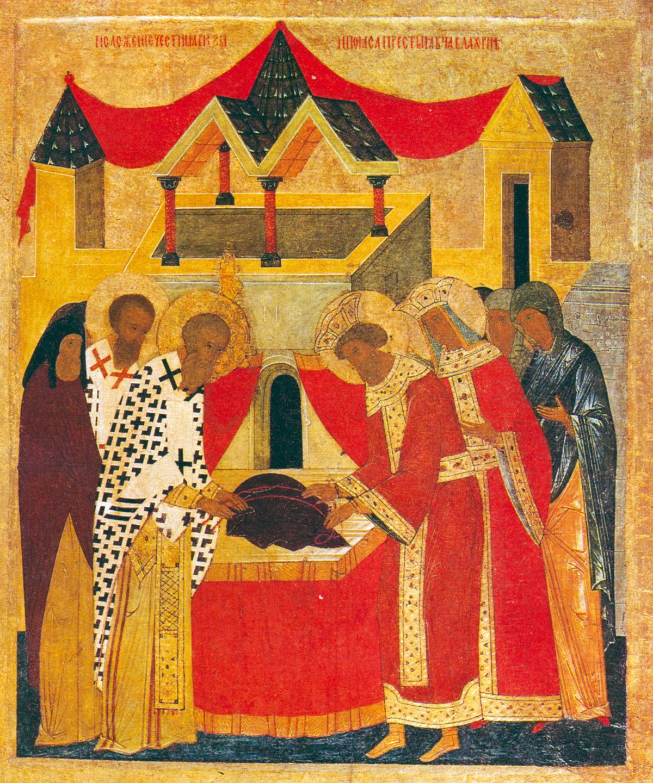 Праздник Положения Честной ризы Пресвятой Богородицы во Влахерне