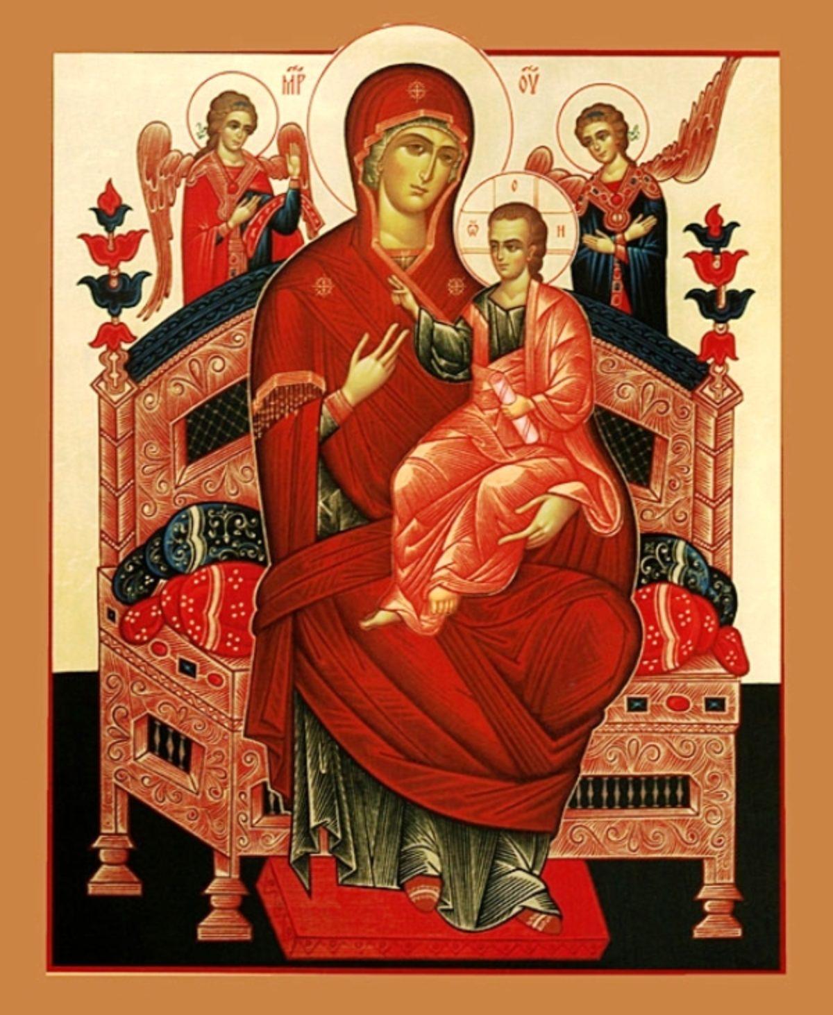 Икона Божией Матери, именуемая «Всецарица»