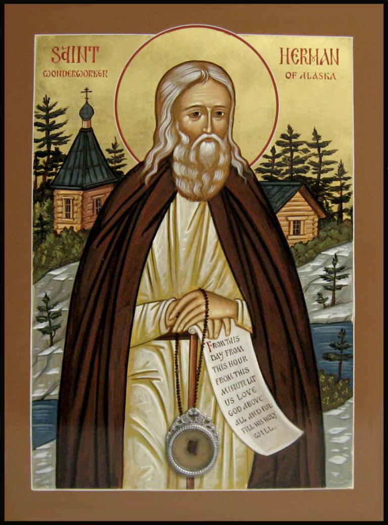 Память преподобного Германа Аляскинского