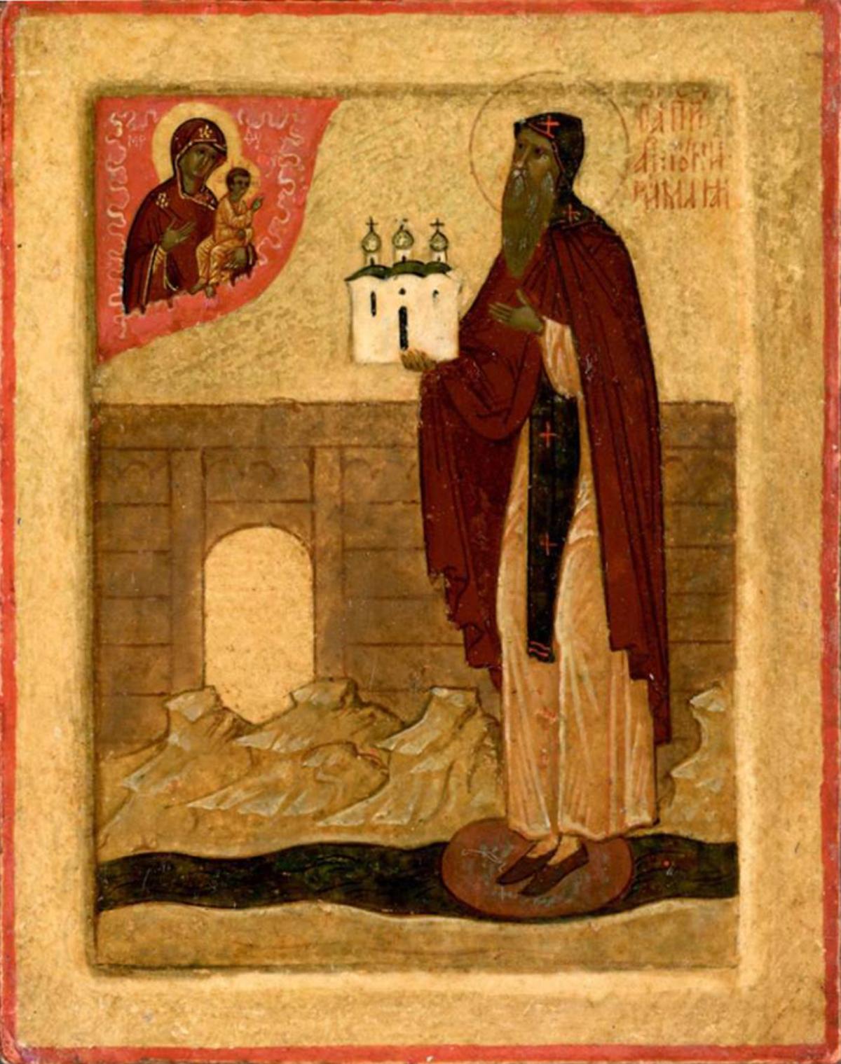 Преподобный Антоний Римлянин