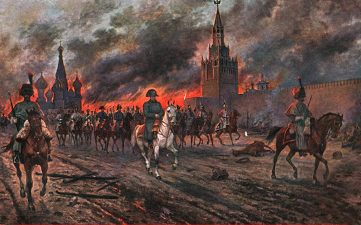 Почему Наполеон пошел именно на Москву, а не Санкт-Петербург