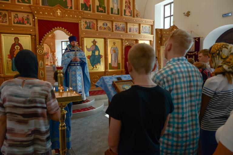 Богослужение в день Собора Московских святых