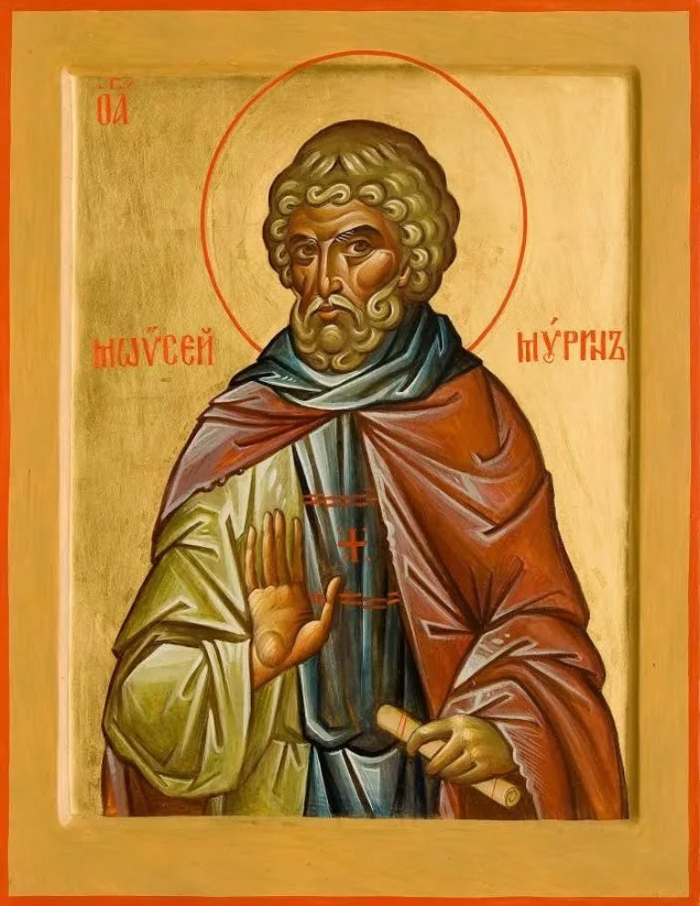 Память преподобного Моисея Мурина
