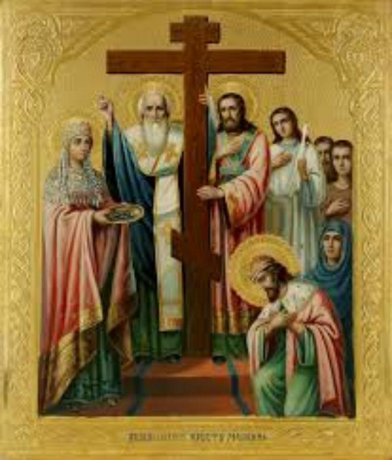 Богослужение в день Воздвижения Креста Господня