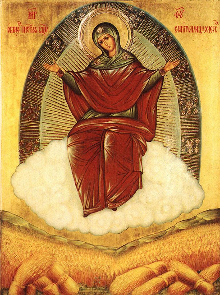 Икона Пресвятой Богородицы «Спорительница хлебов»
