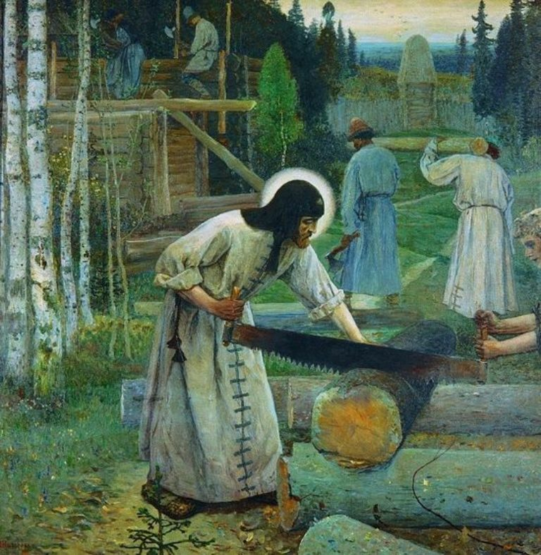 Протоиерей Михаил Бойко. О духовной нищете преподобного Сергия
