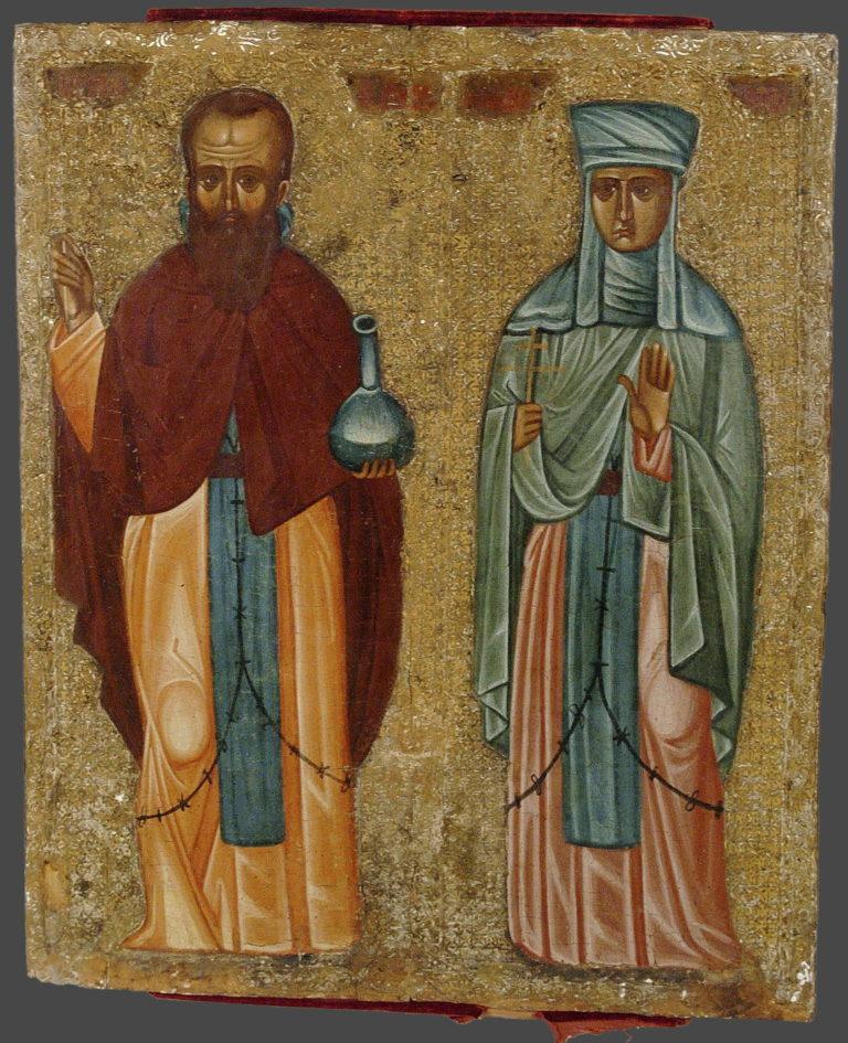 Память преподобных Андроника и Афанасии