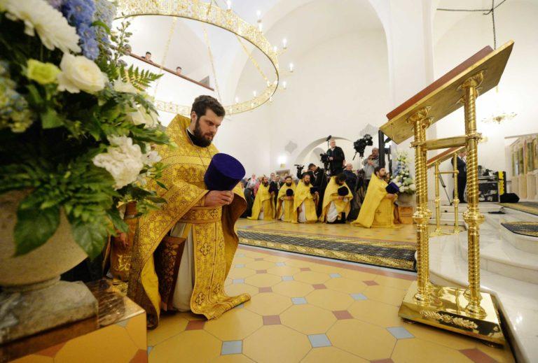 Великое освящение храма иконы Божией Матери «Неопалимая Купина» в Отрадном