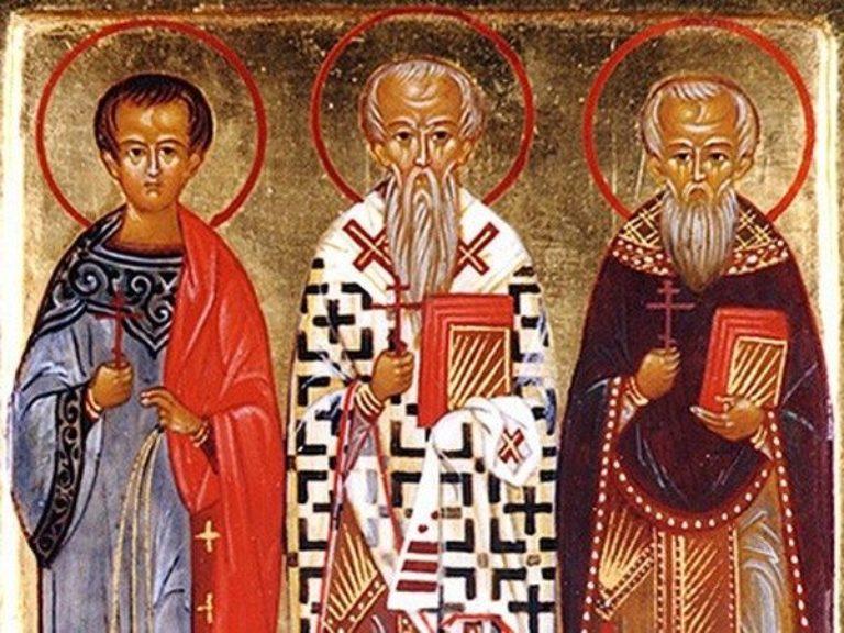 Священномученики Акепсим, Иосиф и Аифала