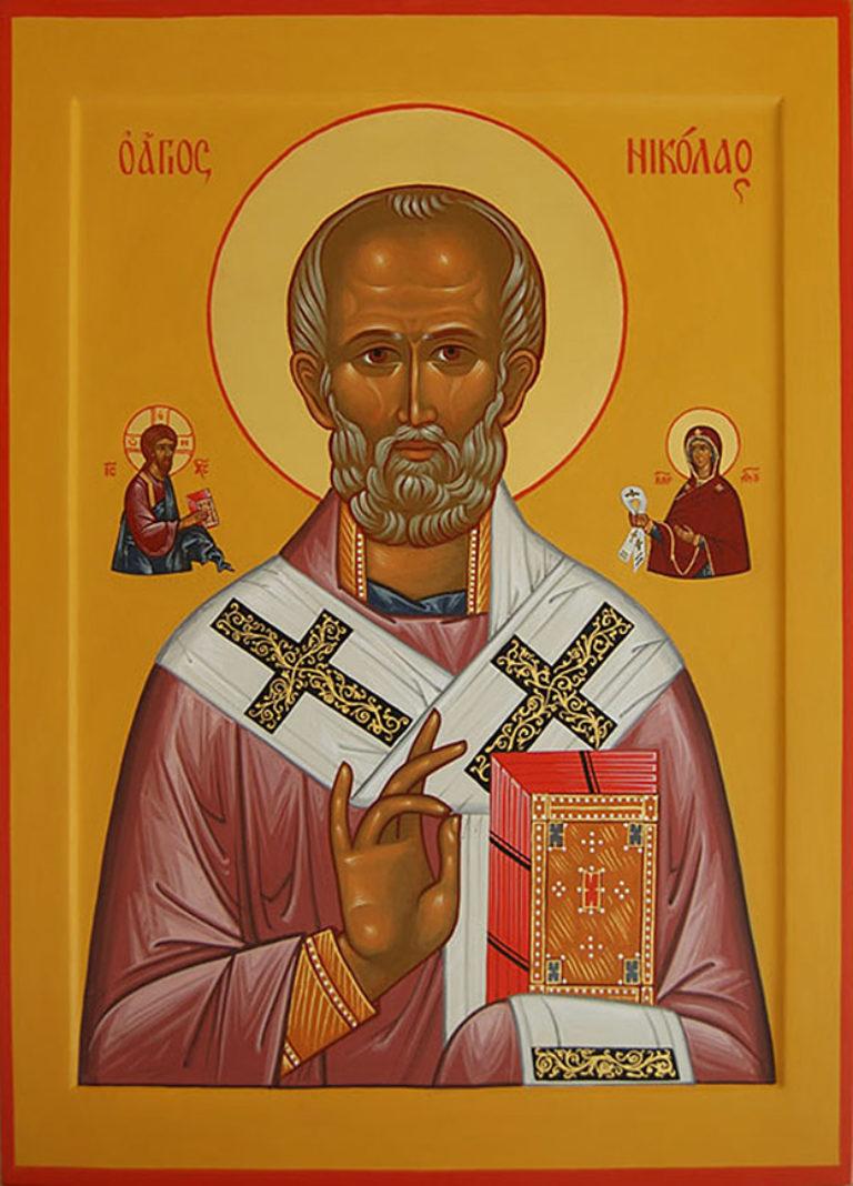 Богослужение в день памяти свт. Николая Чудотворца