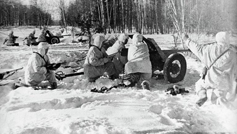 Начало контрнаступления советских войск в битве под Москвой
