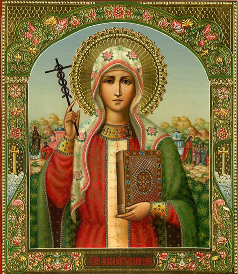 Богослужение в день памяти святой равноапостольной Нины