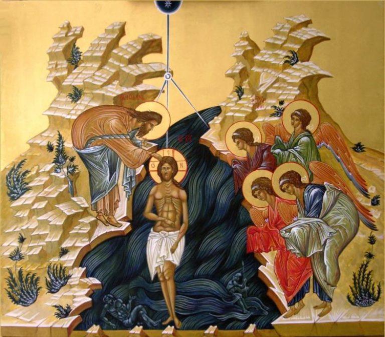 Богослужение в день Крещения Господня