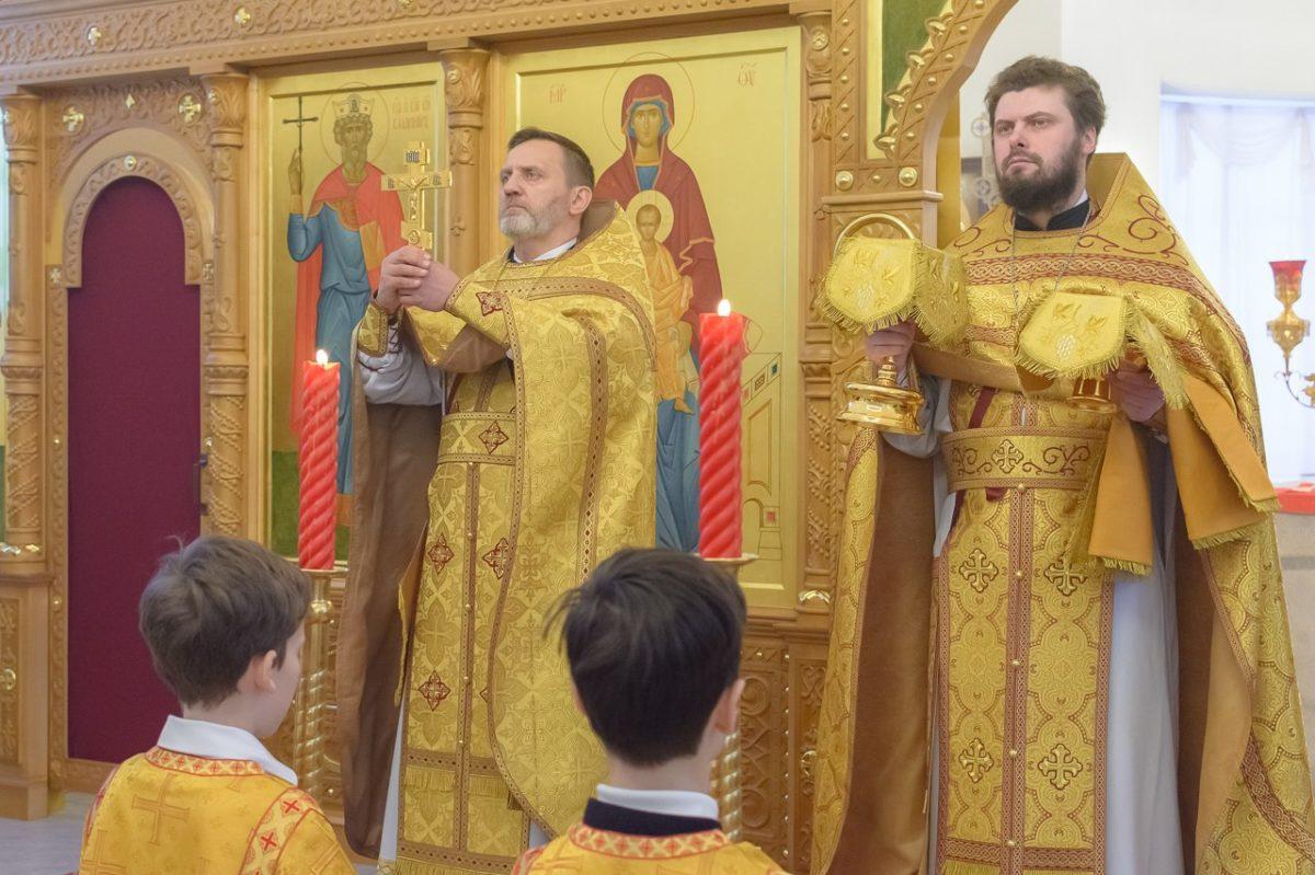 Воскресное богослужение в день памяти св. равноап. Нины