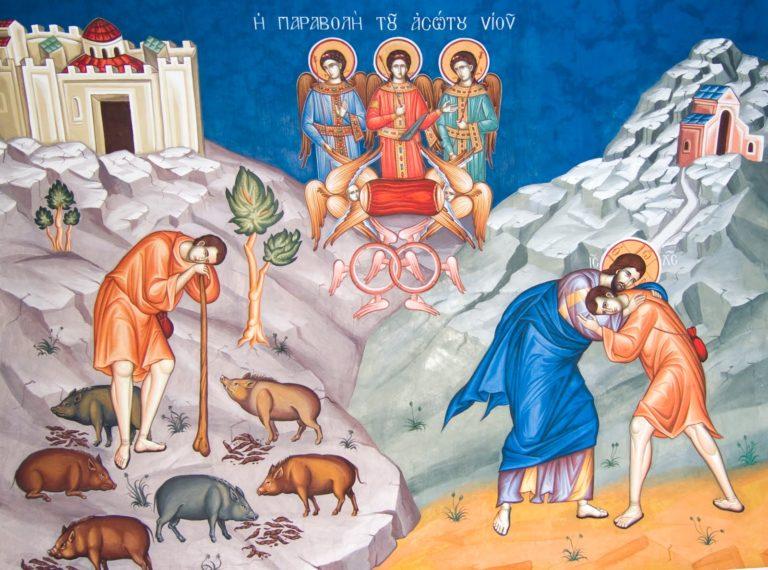 Богослужение в Неделю о блудном сыне