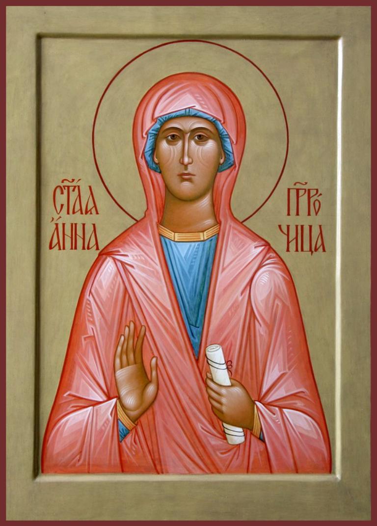 Анна – единственная пророчица в Новом Завете