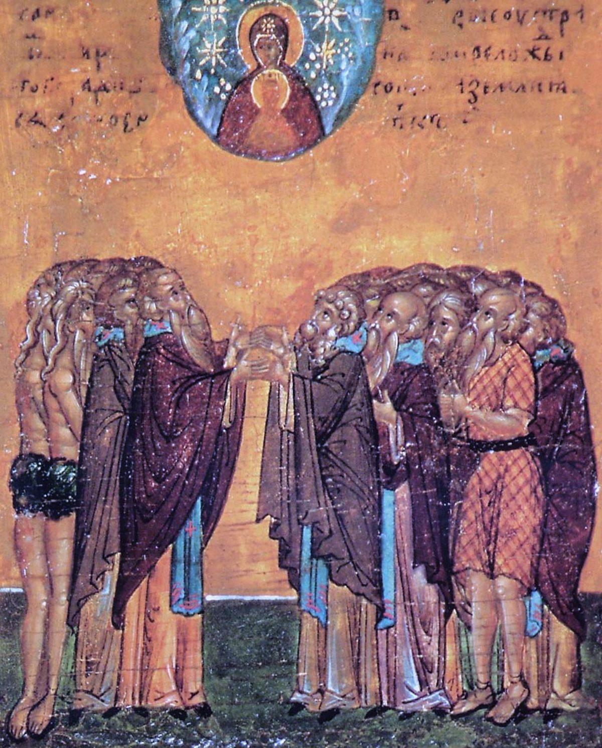 Собор всех преподобных отцов, в подвиге просиявших