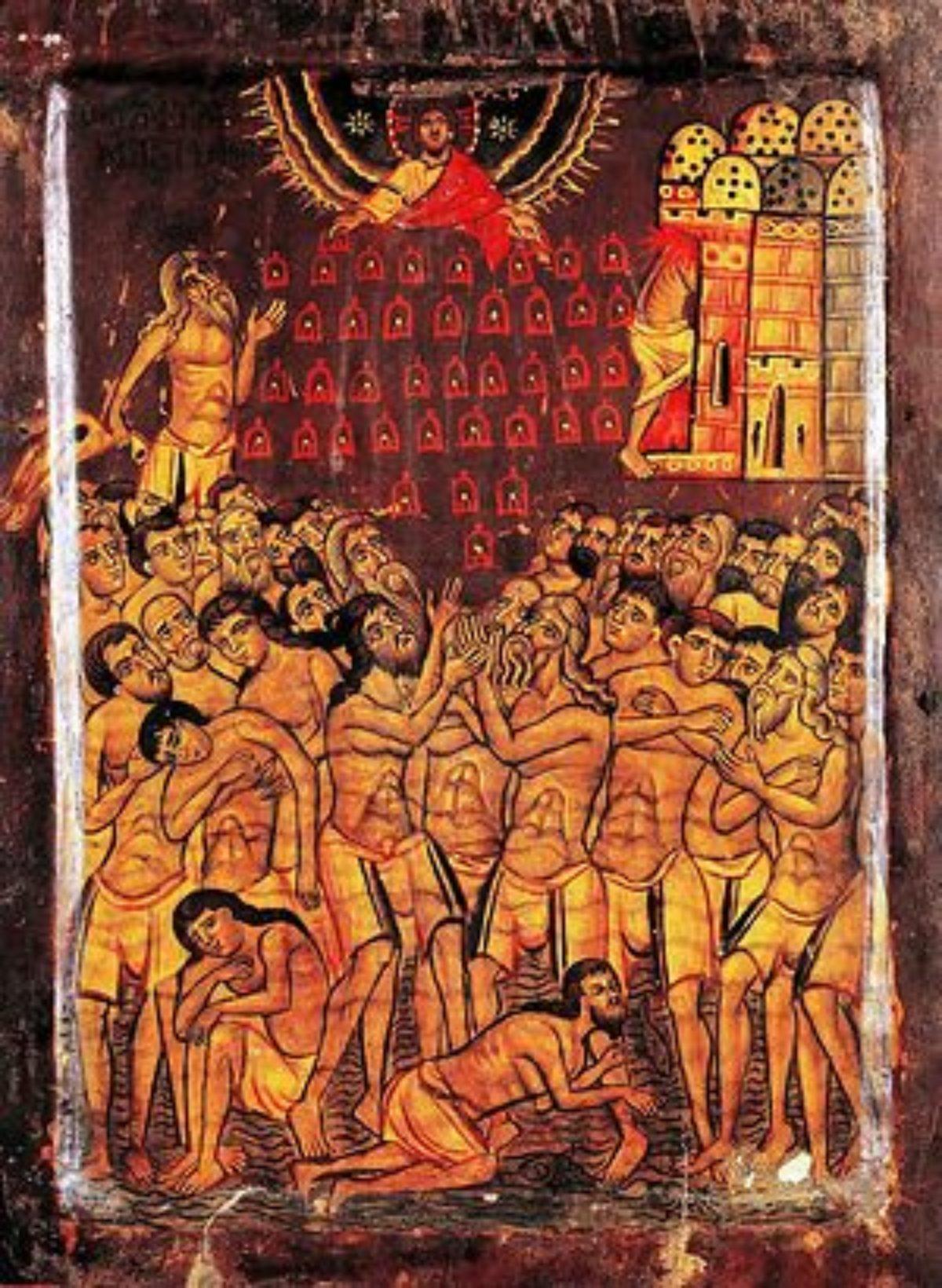 «Завещание» святых 40 мучеников Севастийских