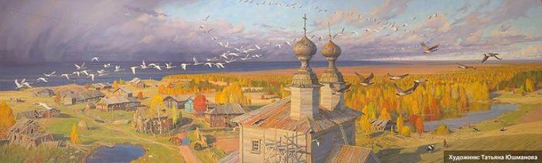 Увидеть «згу», или неторопливый рассказ Николая Гунина, хранителя Ворзогорской церкви