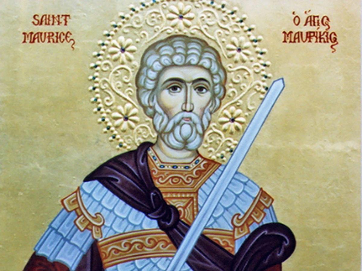 Святой мученик Маврикий