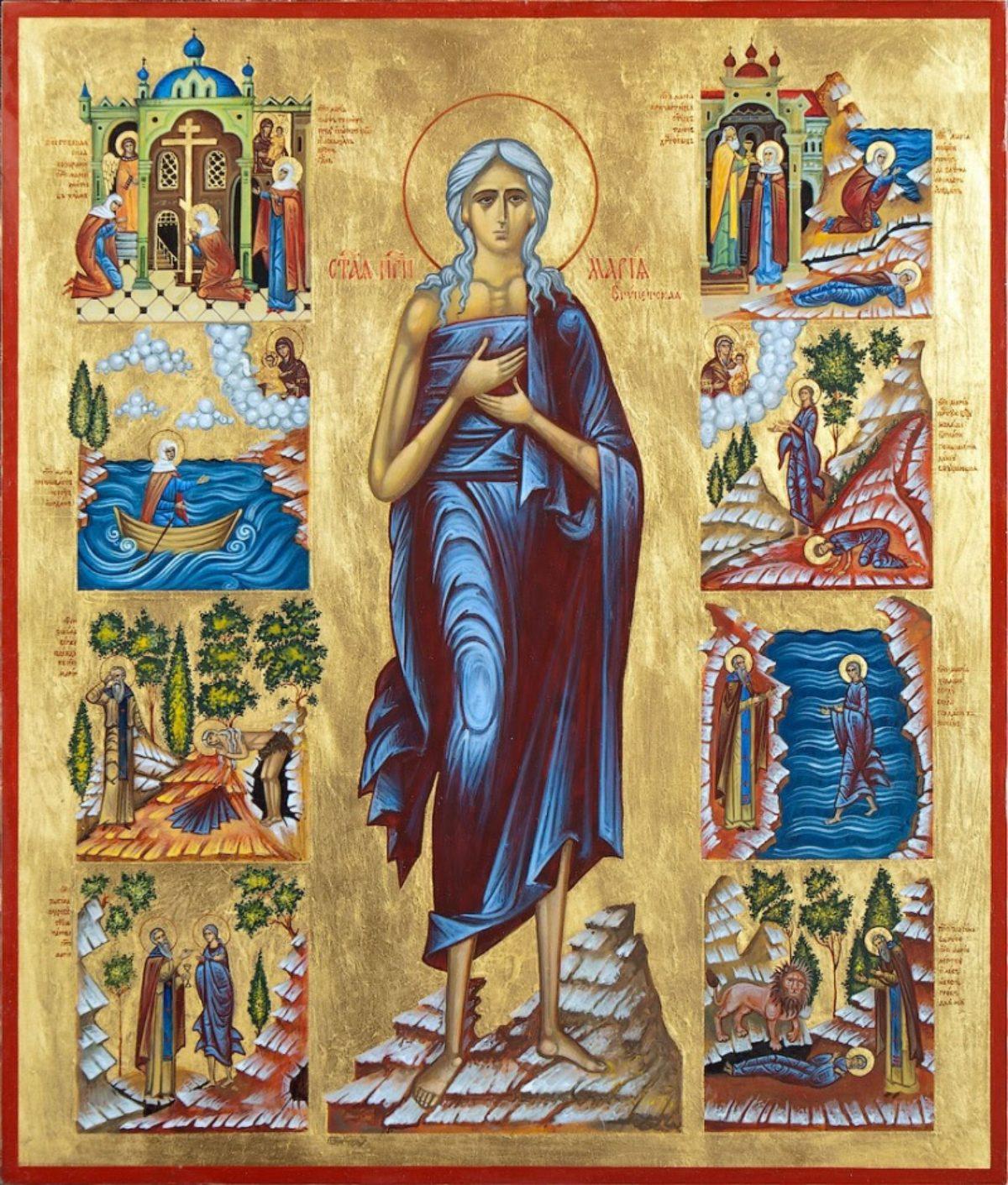 Отрывок из «Жития прп. Марии Египетской»