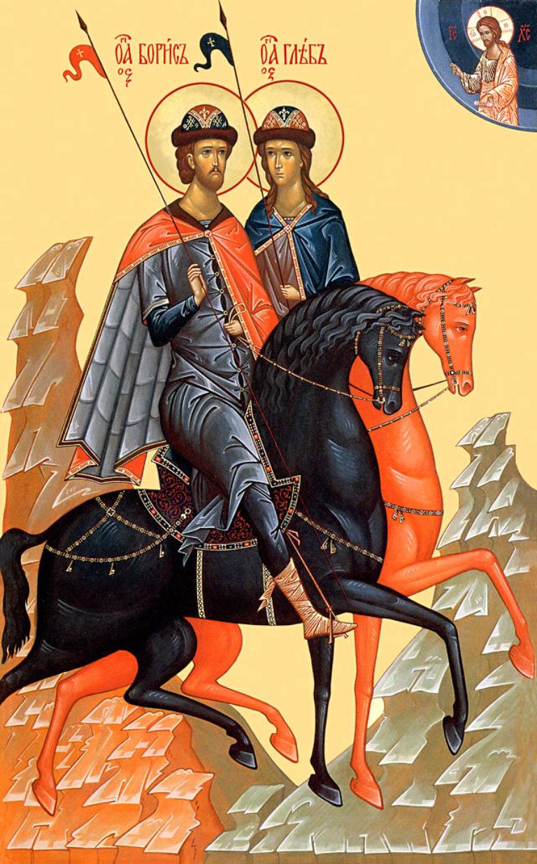 Благоверные князья-страстотерпцы Борис и Глеб