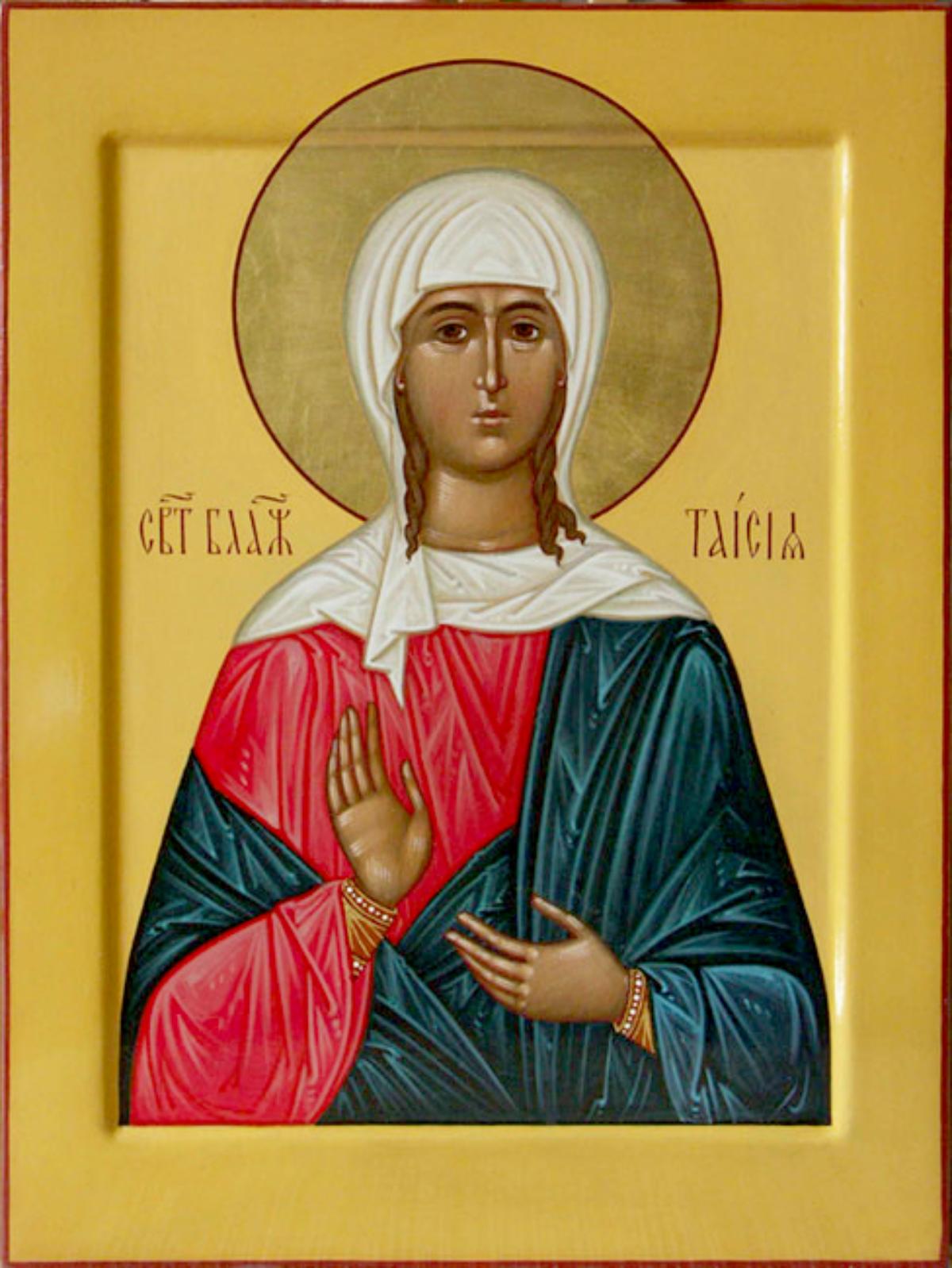 Блаженная Таисия Египетская
