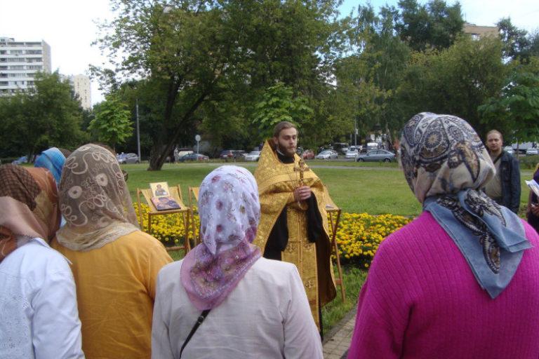Престольный праздник храма св. Ольги: ретроспектива 2013