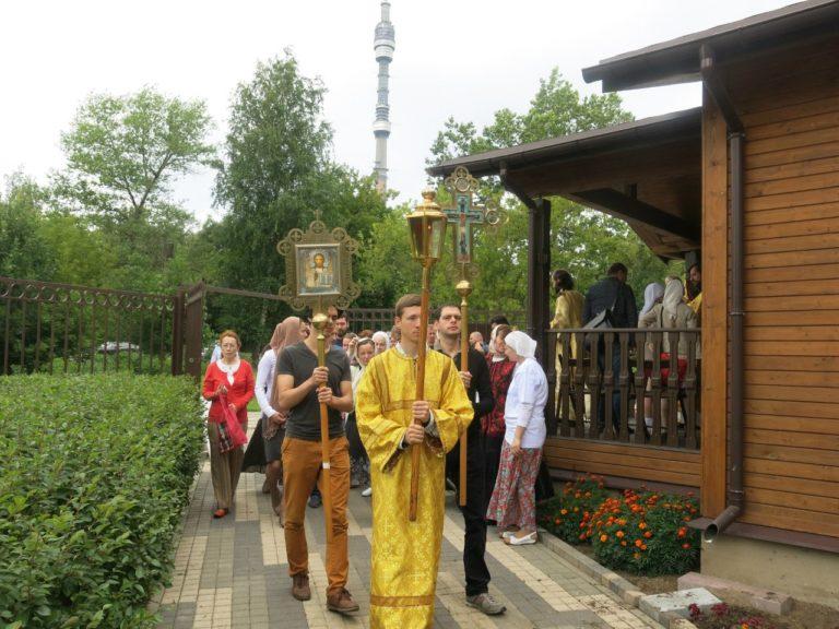 Престольный праздник храма св. Ольги в Останкино: ретроспектива 2015