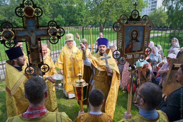 Престольный праздник храма св. Ольги в Останкино: ретроспектива 2016