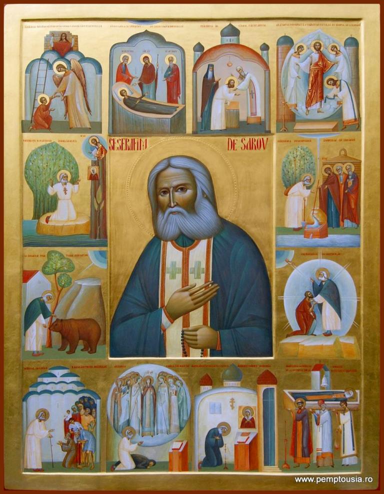 Преподобный Серафим Саровский:  Жизнь как череда подвигов