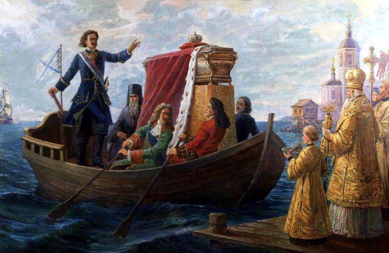 Перенесение мощей святого князя Александра Невского и Ништадтский мир