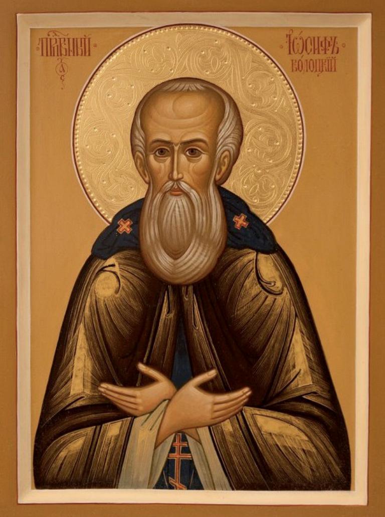 Преподобный Иосиф Волоцкий: краткое житие