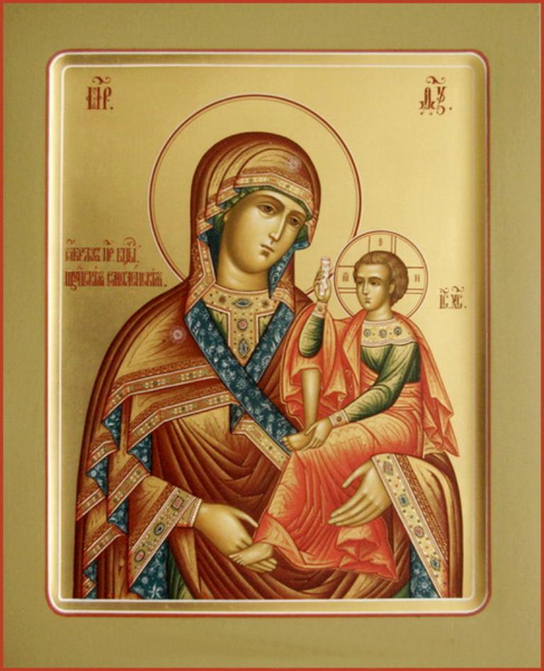 Празднование Шуйской-Смоленской иконе Божией Матери