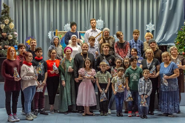 Театрализованная рождественская постановка
