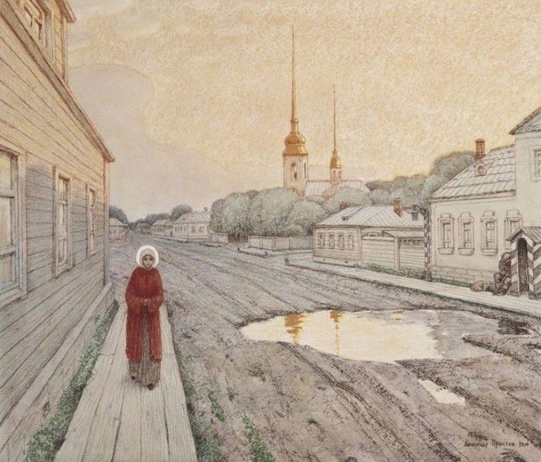 Подвиг святой Ксении Петербургской