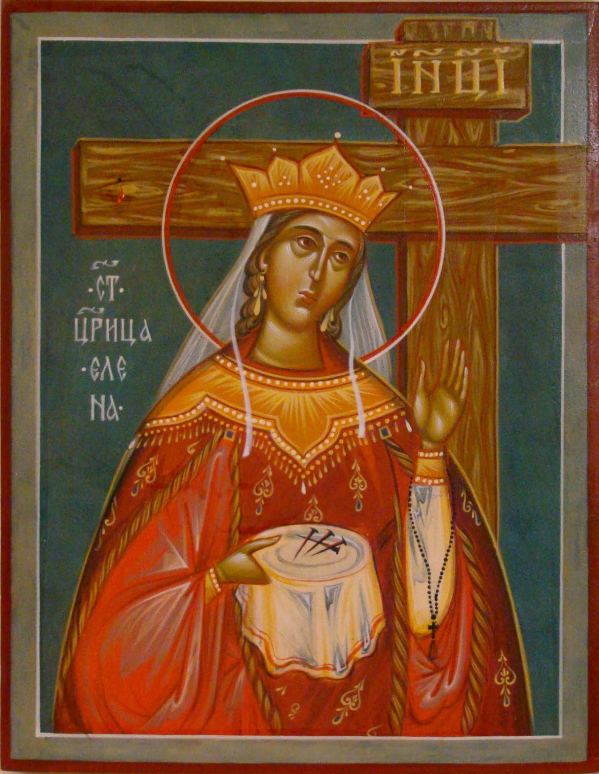Обретение Честного Креста и гвоздей святой царицей Еленой во Иерусалиме