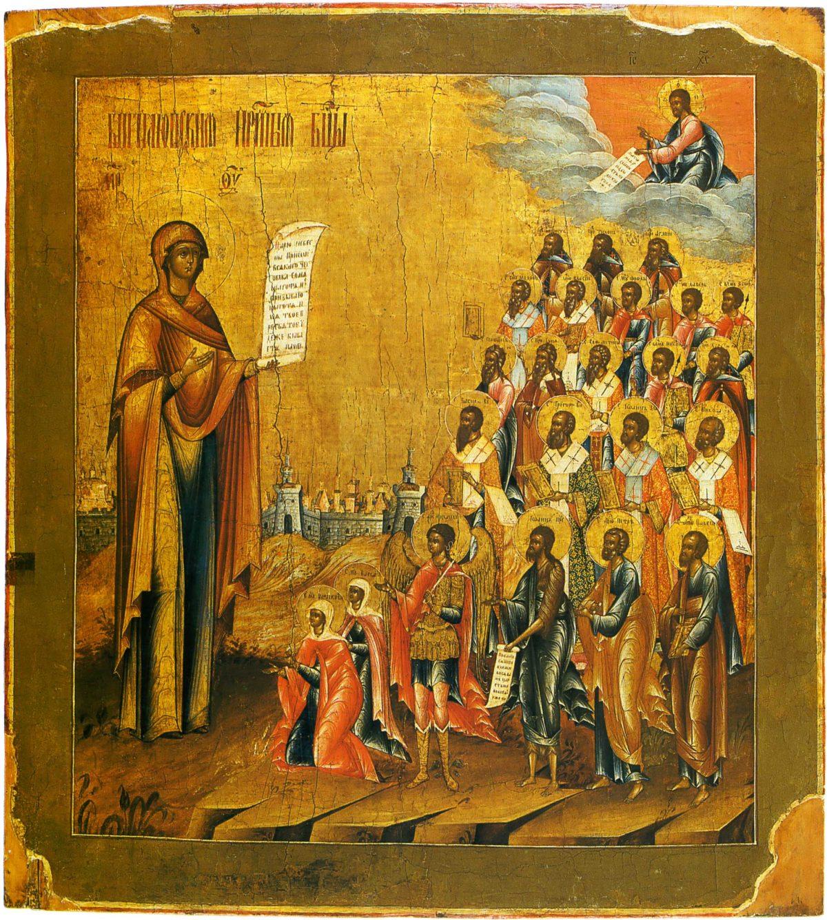 Боголюбская икона Пресвятой Богородицы