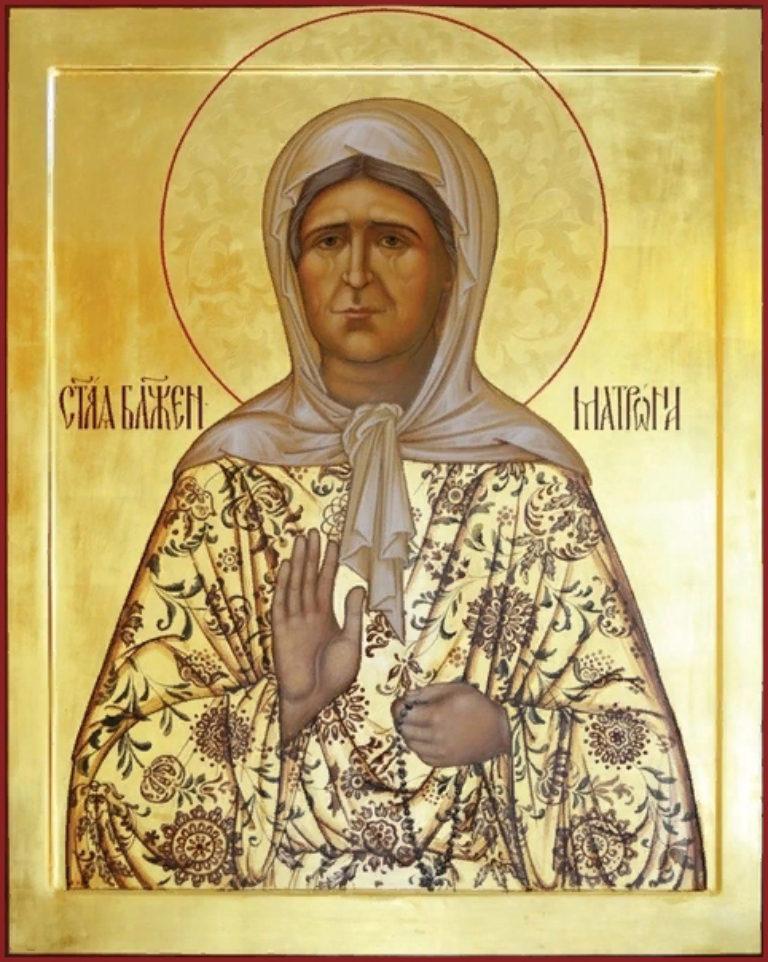 О святой Матроне Московской
