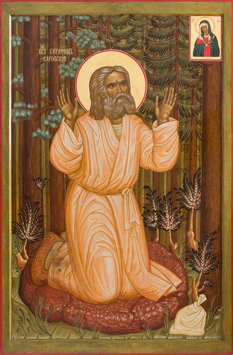 Подвиги преподобного Серафима