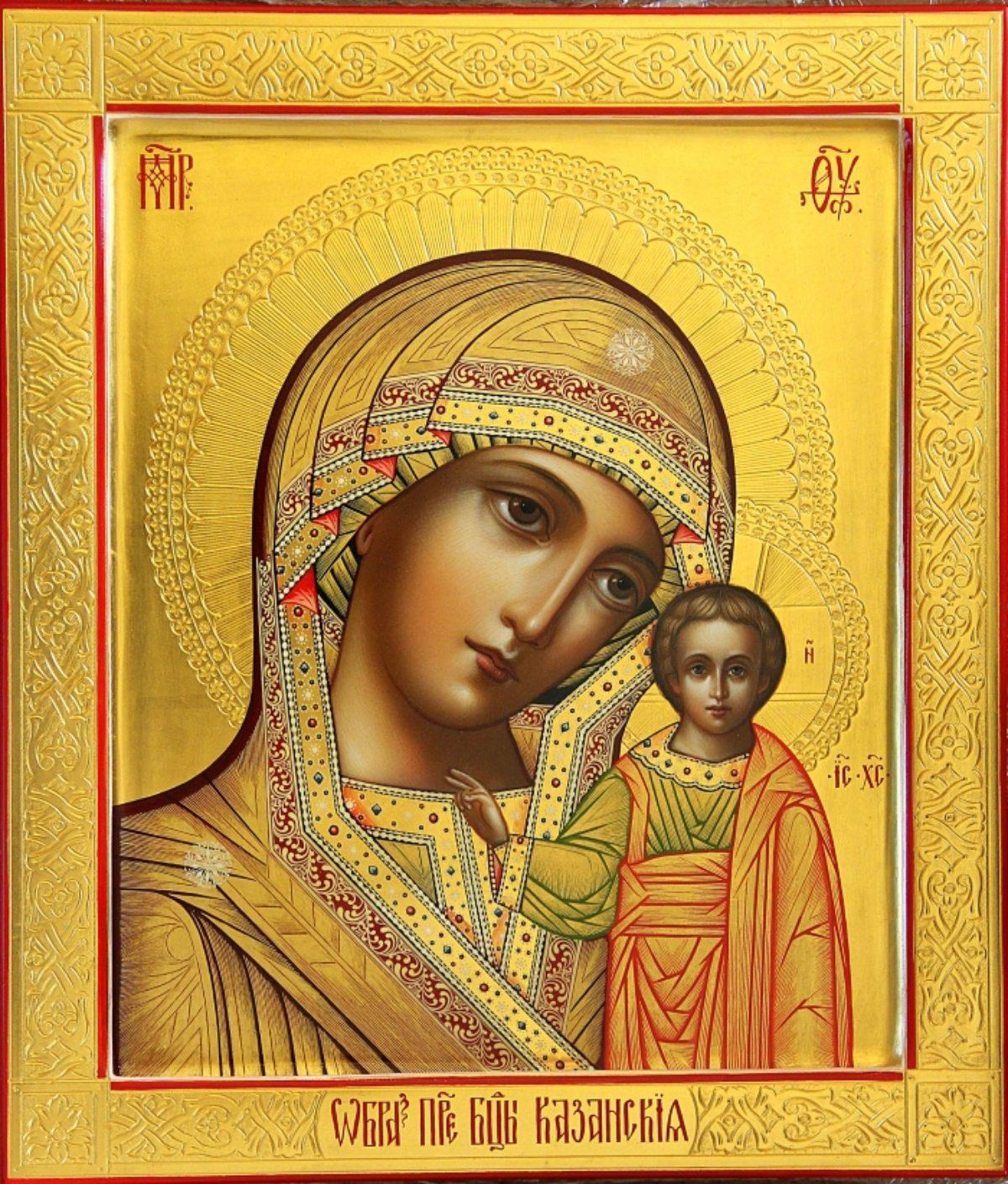 Обретение Казанской иконы Божией Матери